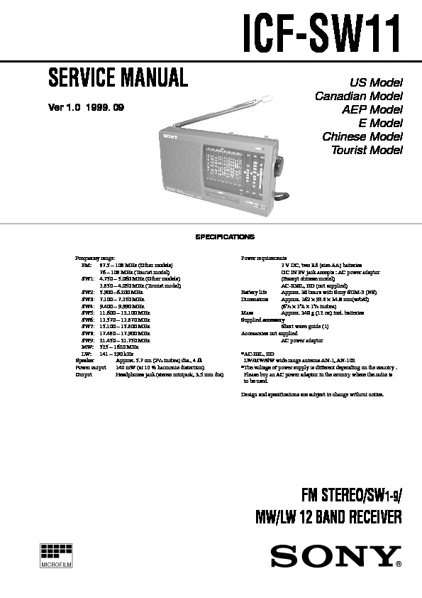 ICF-SW11 sony multi band portable radio.pdf