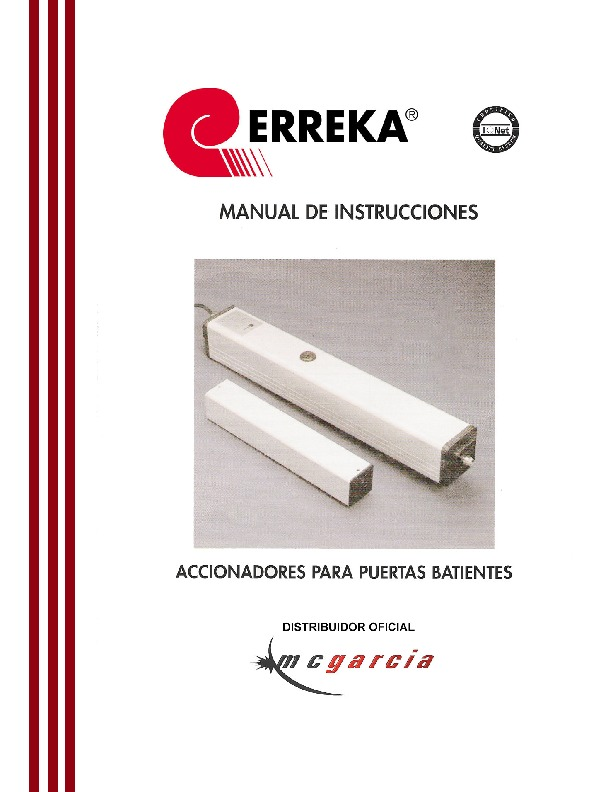 manual erreka batiente pdf manual erreka batiente pdf