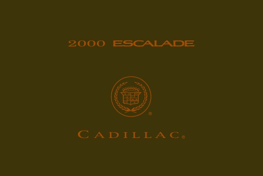 2000-Cadillac-Escalade Manual del Usuario pdf GM
