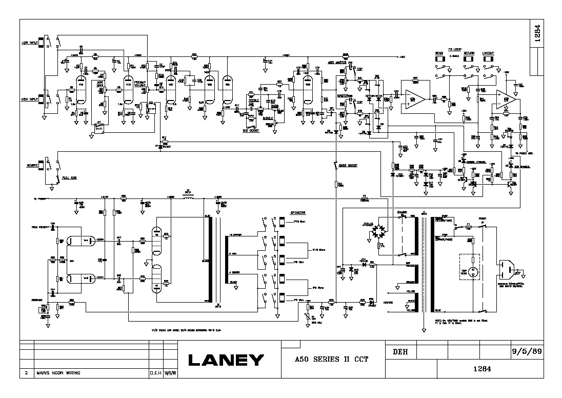 LANEY A50 series II pdf LANEY A50 series II pdf