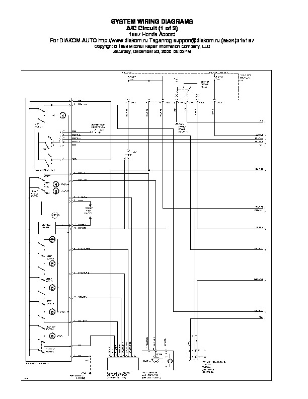 Honda Accord 97 Wiring Diagram Pdf Honda Accord 97