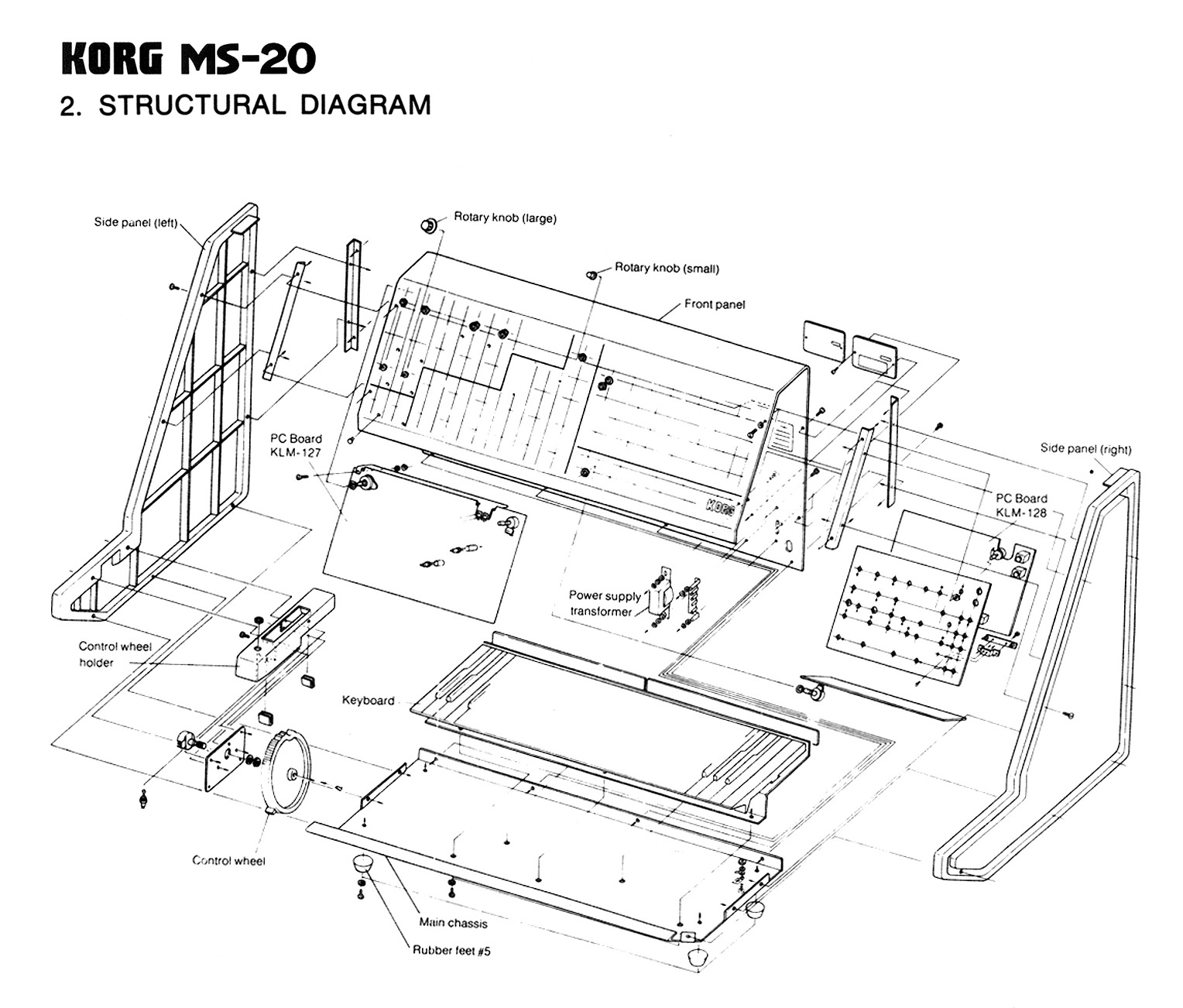 KORG MS 20 Synthesizer service manual part2 gif KORG MS 20 Synthesizer service manual part2 gif