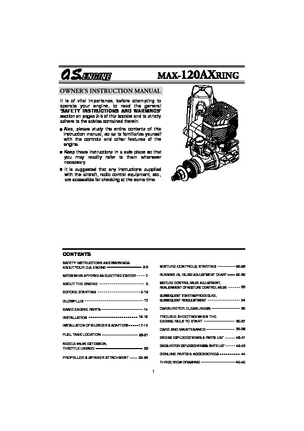 Four Stroke MAX 120AX RING pdf Four Stroke MAX 120AX RING pdf