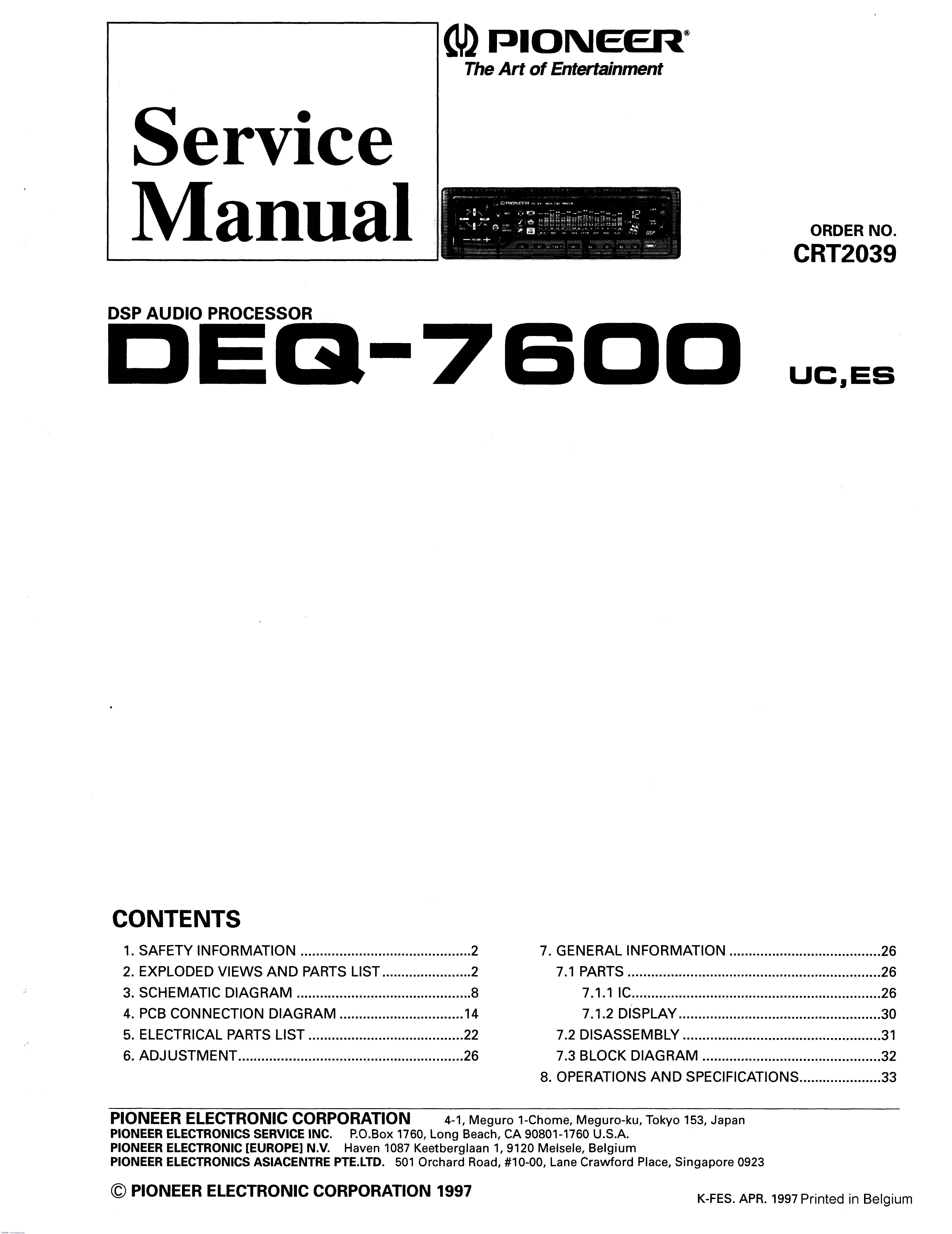 Pioneer Eq 6500 Wiring Diagram from im3.diagramasde.com