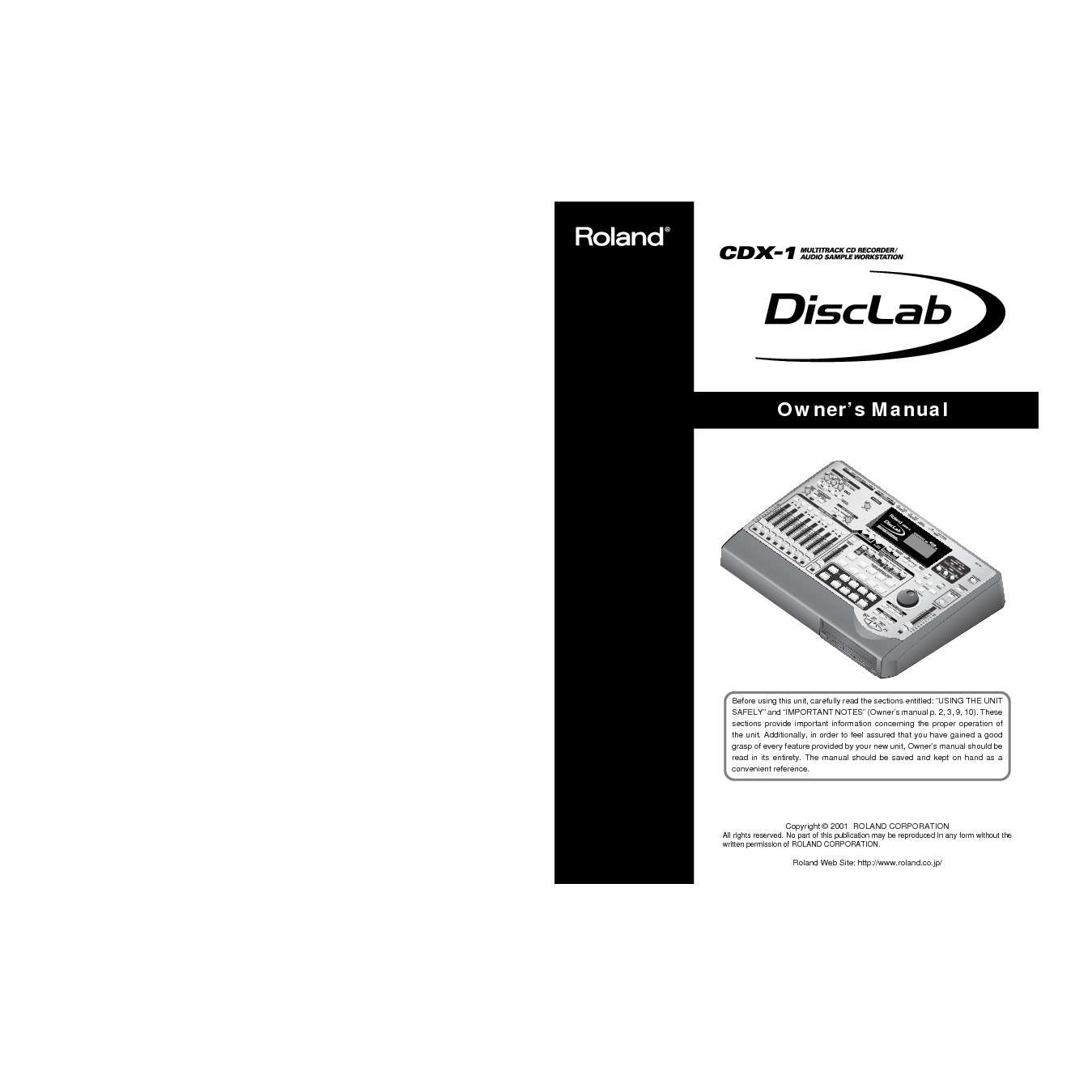 Roland CDX-1 Manual del Usuario.pdf