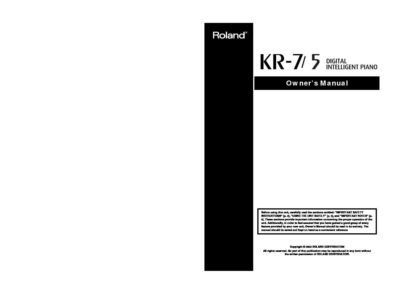 Roland KR-5 Manual del Usuario.pdf