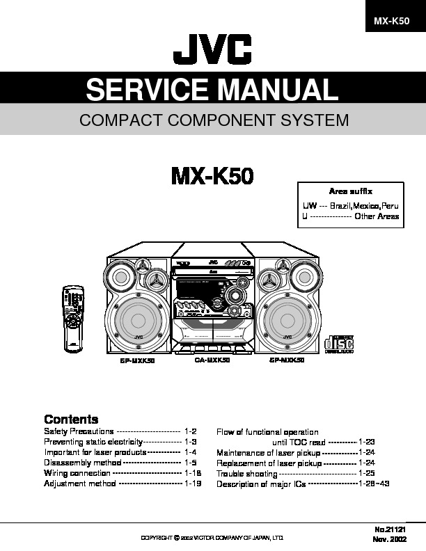JVC MX-k50uw Manual de Servicio.pdf