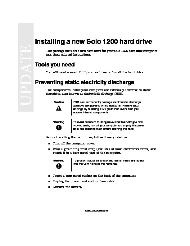 SOLO 1200 REMOVE REPLACE HARD DRIVE.pdf
