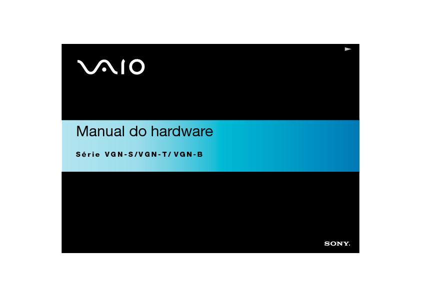 Sony Vaio Manual del Usuario B S2 T H Portugues.PDF