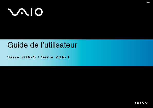 Sony Vaio Manual del Usuario S3 T2 H Frances.PDF