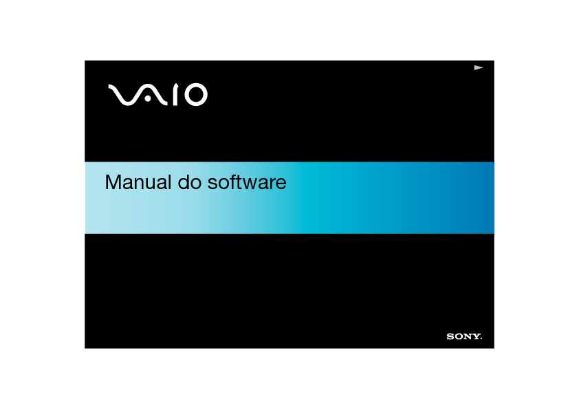 Sony Vaio Manual del Usuario X505 S Portugues pdf SONY