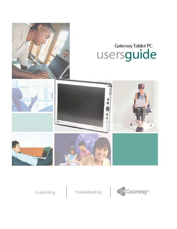 TABLET PC USER MANUAL pdf Gateway