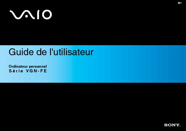Sony Vaio Manual del Usuario FE1 H Frances.PDF
