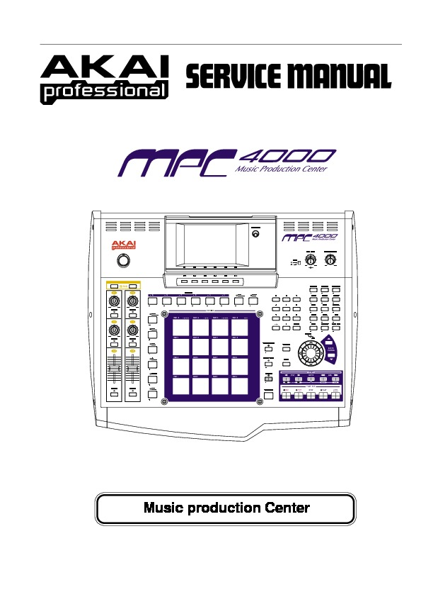 AKAI Professional MPC4000 Service Manual.pdf
