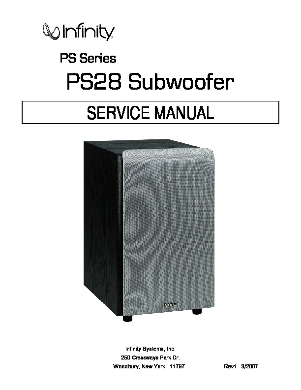 PS28 Infinity subwoofer.pdf