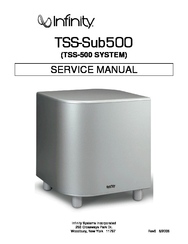 TSS 500 Infinity Active Subwoofer.pdf