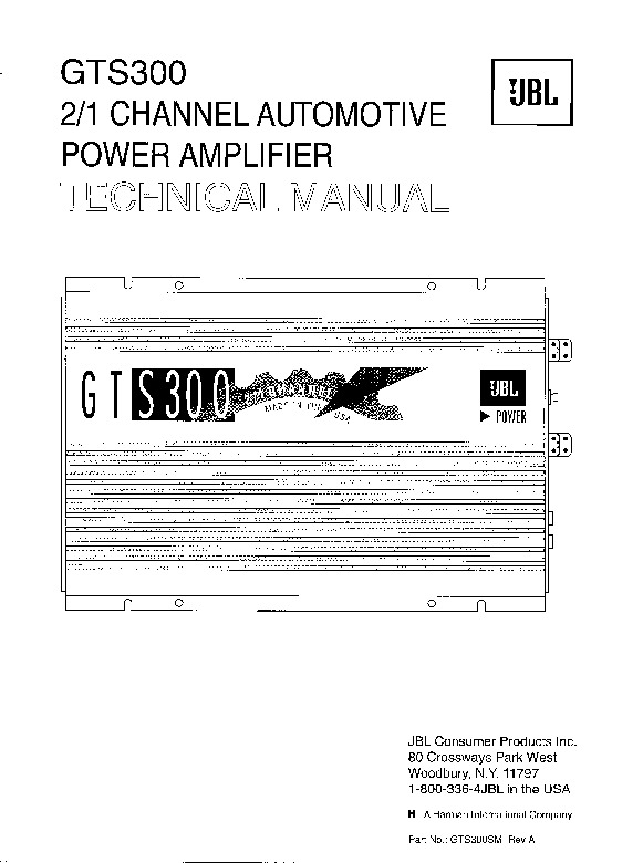 JBL Power Amplifier GTS300.pdf