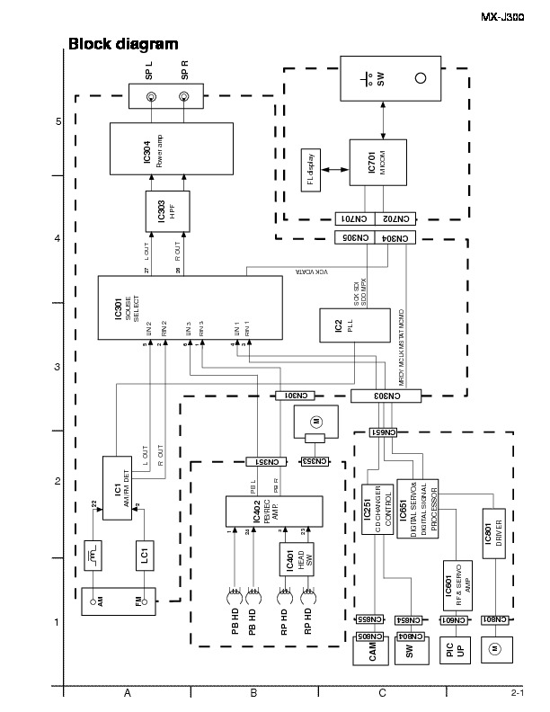 MX-J300 schematic.pdf