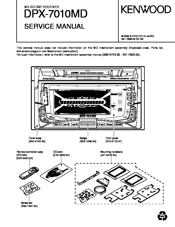 DPX-7010MD Kenwood MD CD DSP RECEIVER.pdf