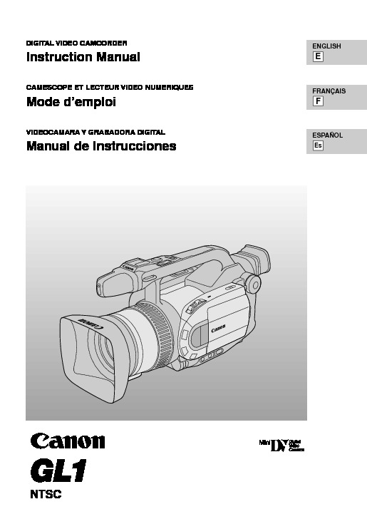Canon GL1 MiniDV Digital Camcorder with Lens Manual.pdf