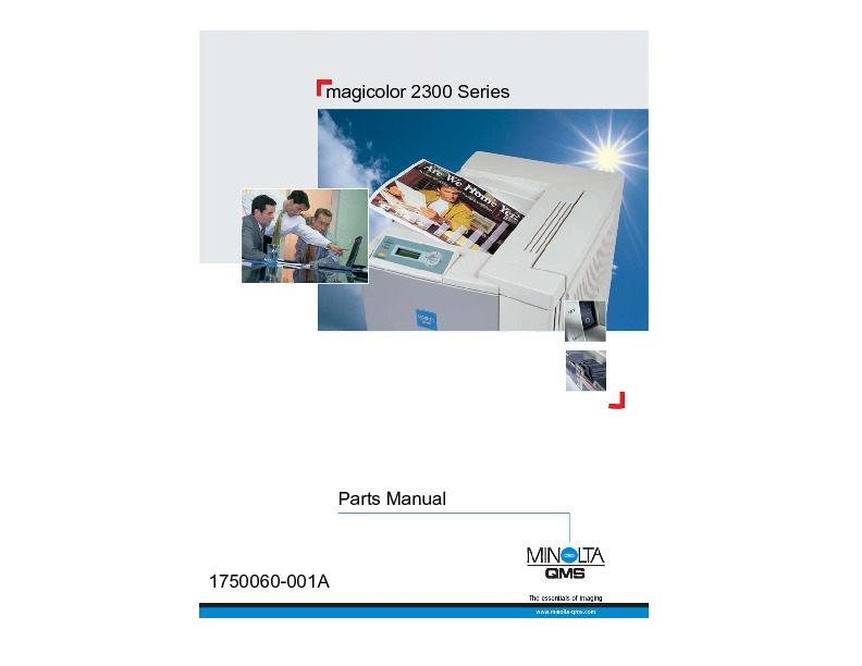 Konica Minolta QMS magicolor 2300 Parts Manual.pdf
