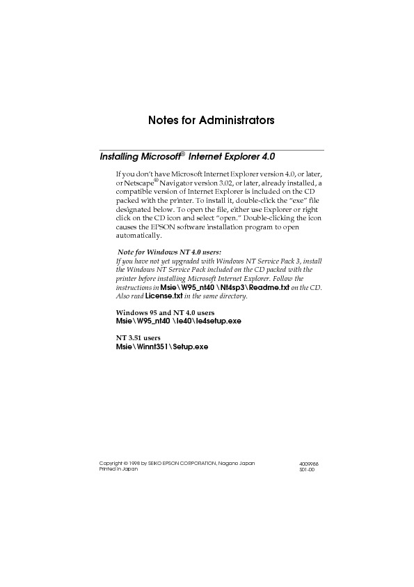 Epson EPL-N4000 Administrator Guide Update for Netware 5.pdf