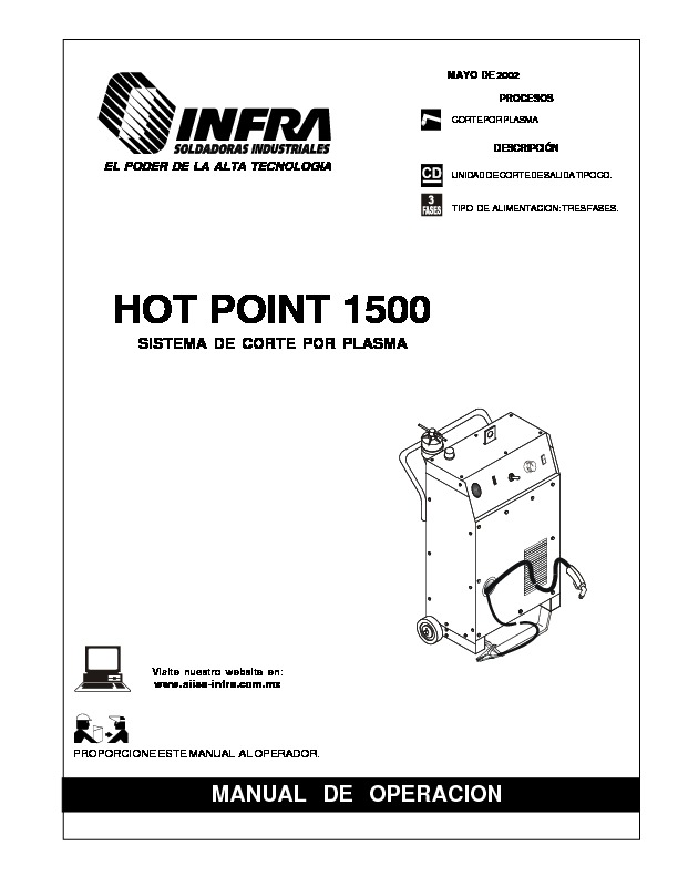 HOT POINT 1500.pdf INFRA HOT POINT 1500