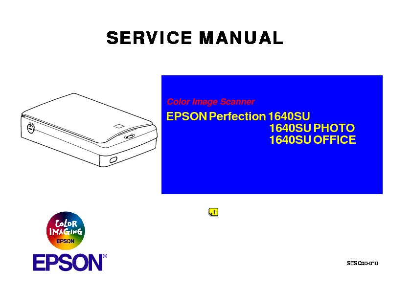 Epson 1640su scaner.pdf EPSON Perfection 1640SU