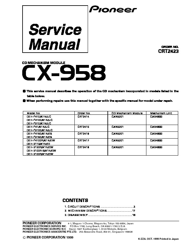 CX 958 cd mechanism module.pdf