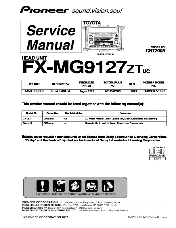 FX MG9127 head unit , Toyota.pdf