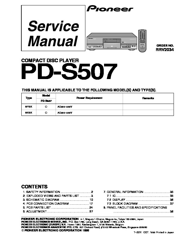 PD S507pioneer COMPACT DISC PLAYER.pdf