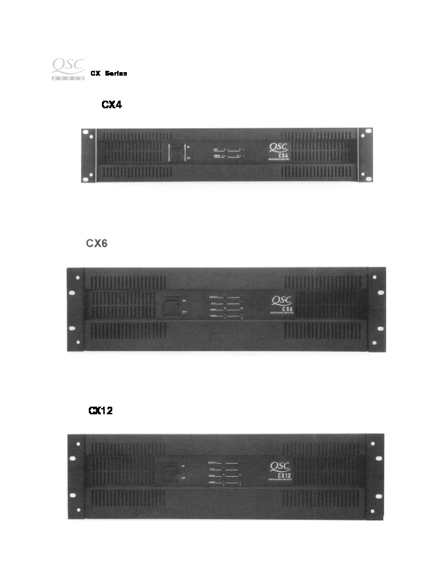 QSC CX4, CX6, CX12 power amp.pdf