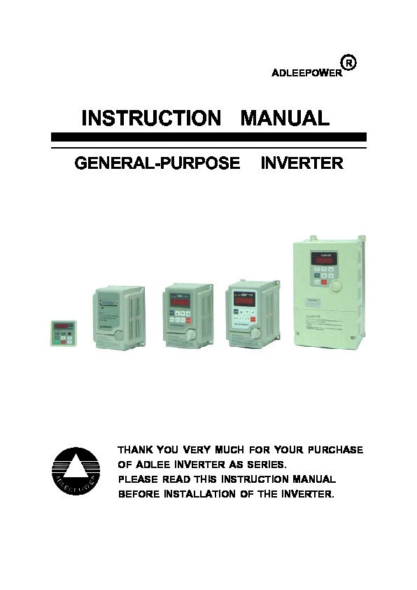 as inverter.pdf ADLEEPOWER AS