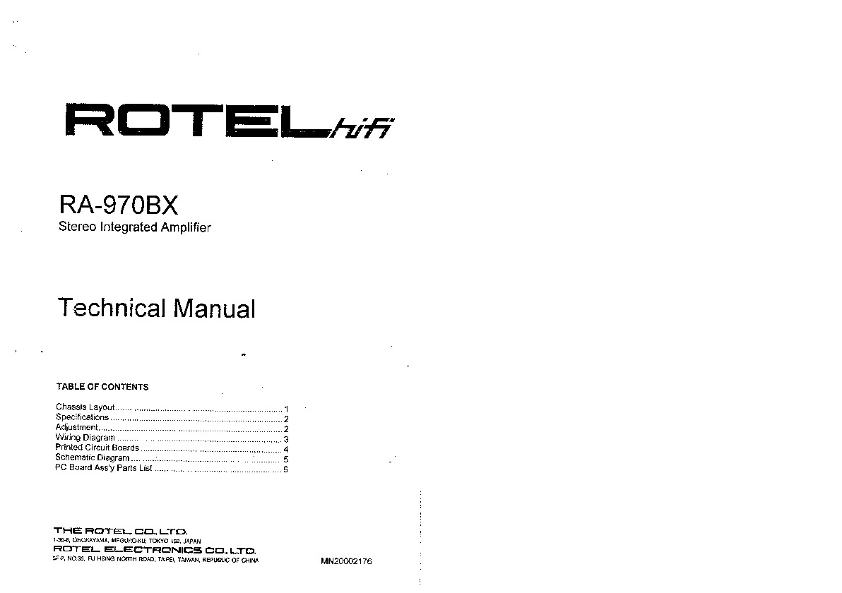 Rotel RA 970BX Technical Manual.pdf