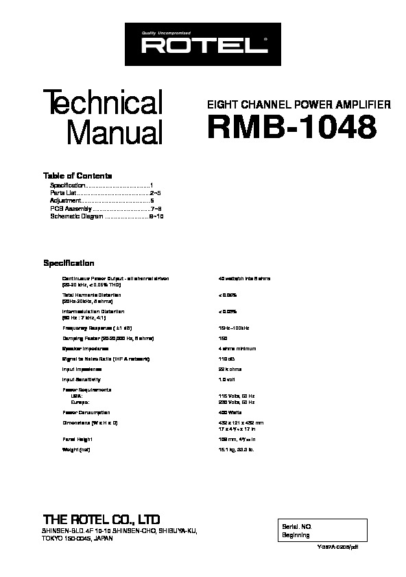 Rotel RMB1048 amplifier.pdf