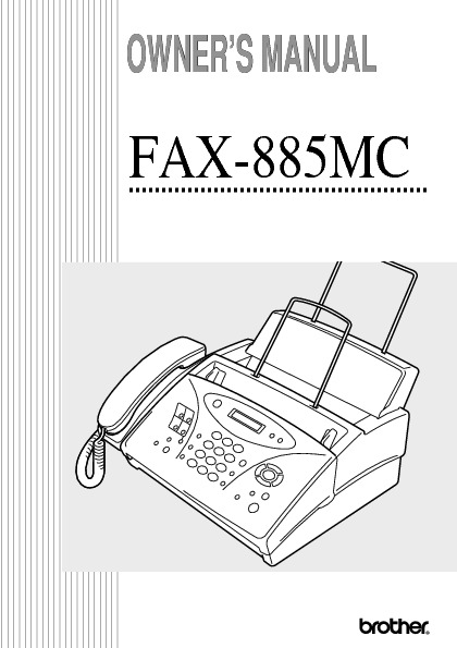 Brother IntelliFAX-885 Fax-Phone-Copy.pdf Brother