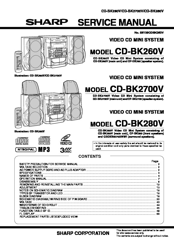 Sharp CD BK260V 2700V.pdf
