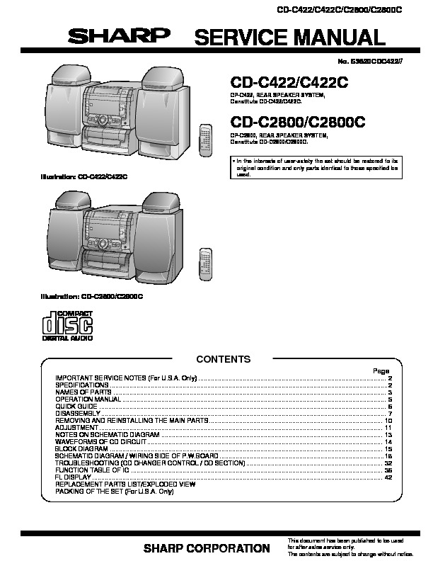 Sharp CD-C422, 2800.pdf
