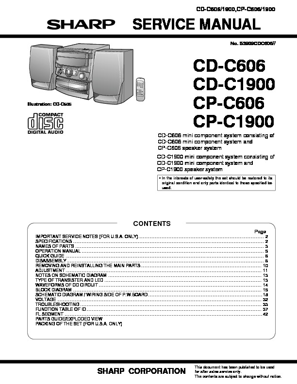 Sharp CD C606.pdf