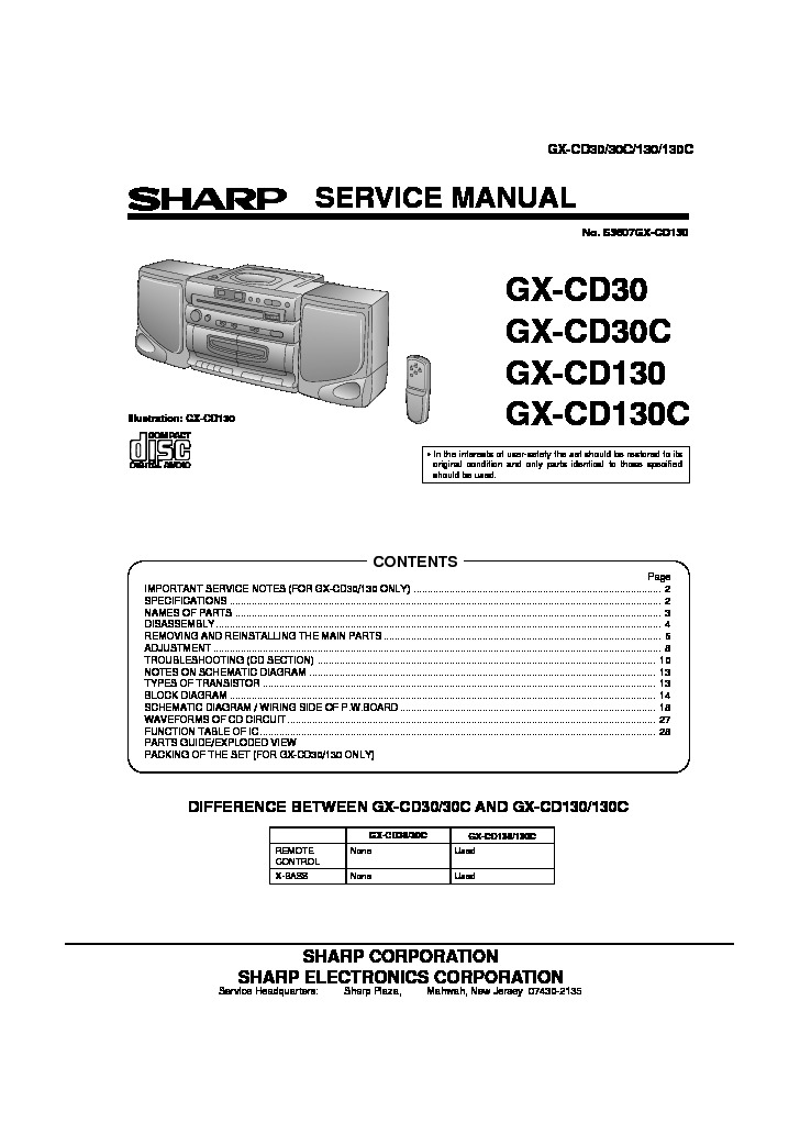 Sharp GX CD130S   GX CD30.pdf