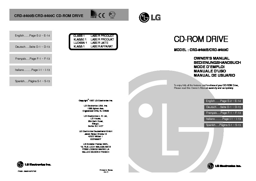 CRD-8400B Manual del Usuario.pdf LG