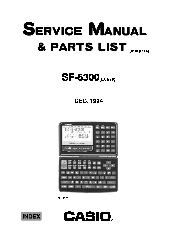 SF6300.pdf Casio
