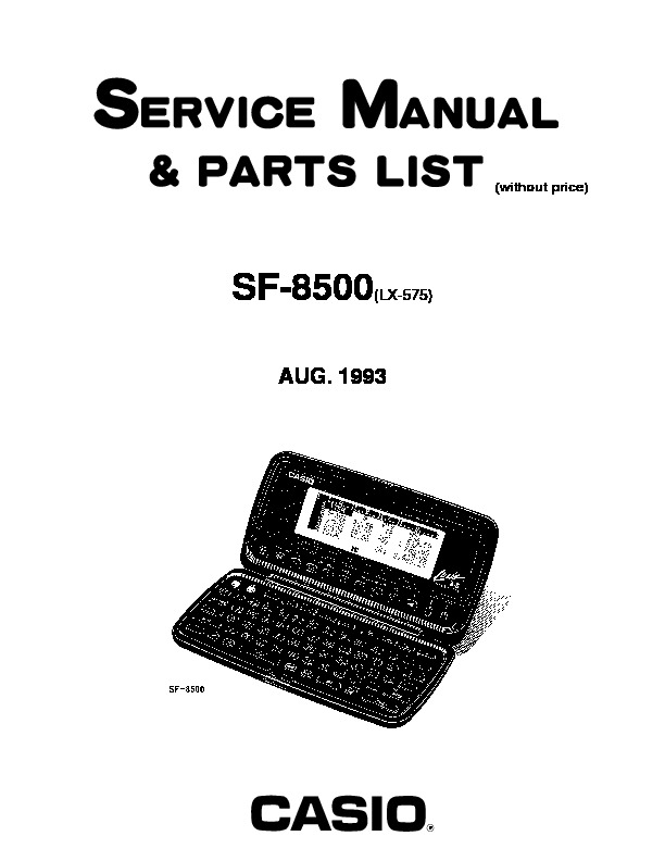 SF8500.pdf Casio