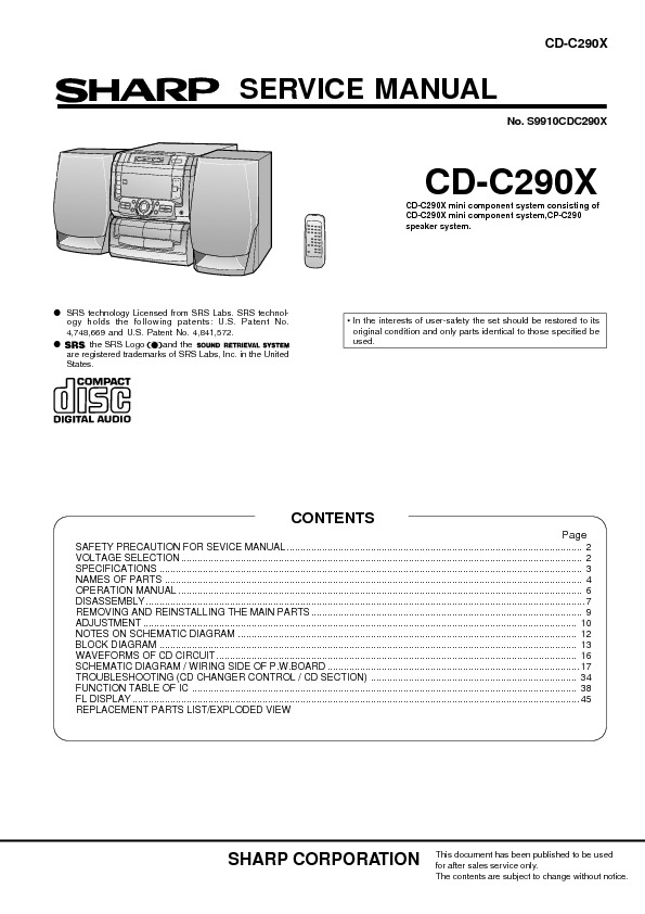 Toshiba CD-C290X Service Manual.pdf