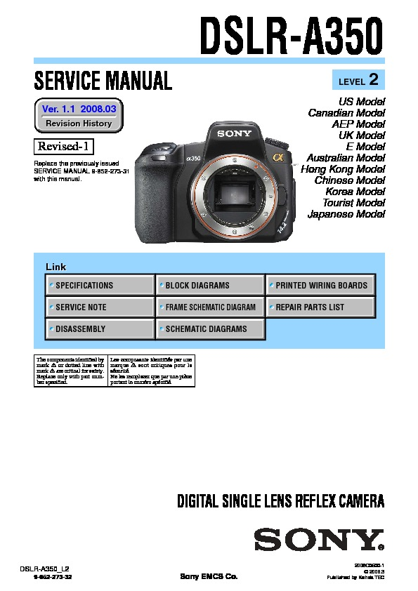 sony dslr a350 level2 ver1 1 pdf sony dslr a350 level2 ver1 1 pdf