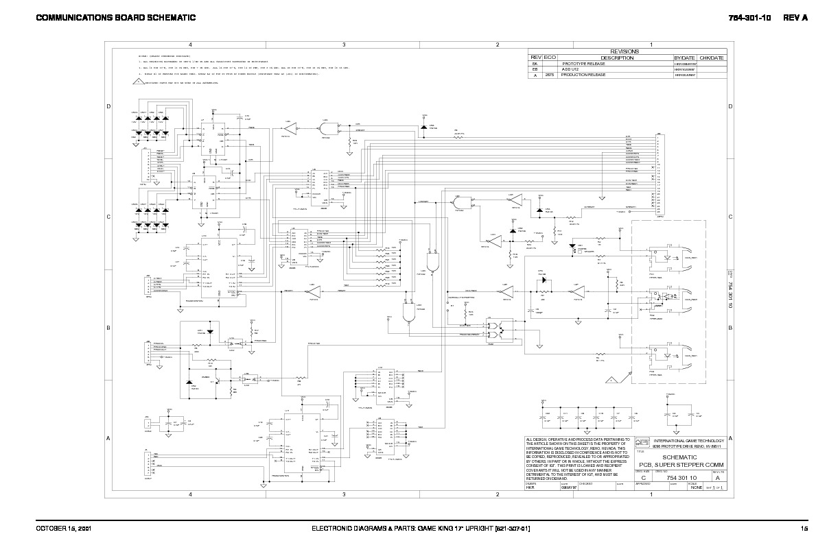 Communications BOARD schematics pdf Communications BOARD schematics pdf