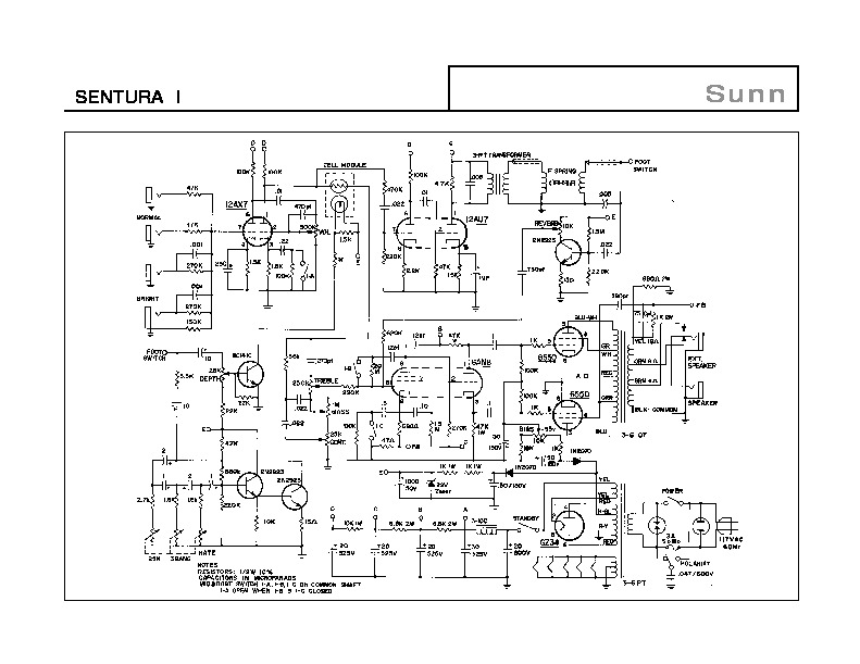 Sunn SENTURA I Amplifier Schematic.pdf