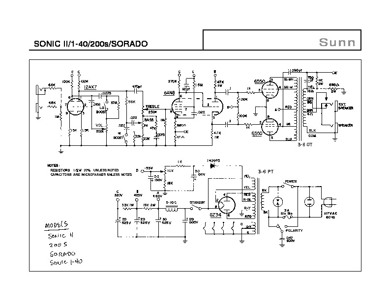 Sunn SONIC II Amplifier Schematic.pdf