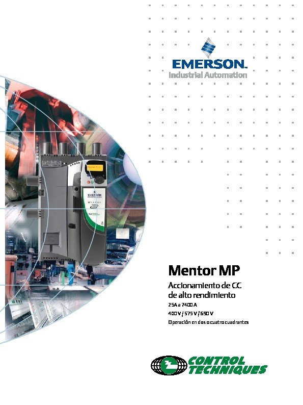 EMERSON MentorSP ES Low pdf EMERSON MentorSP ES Low pdf
