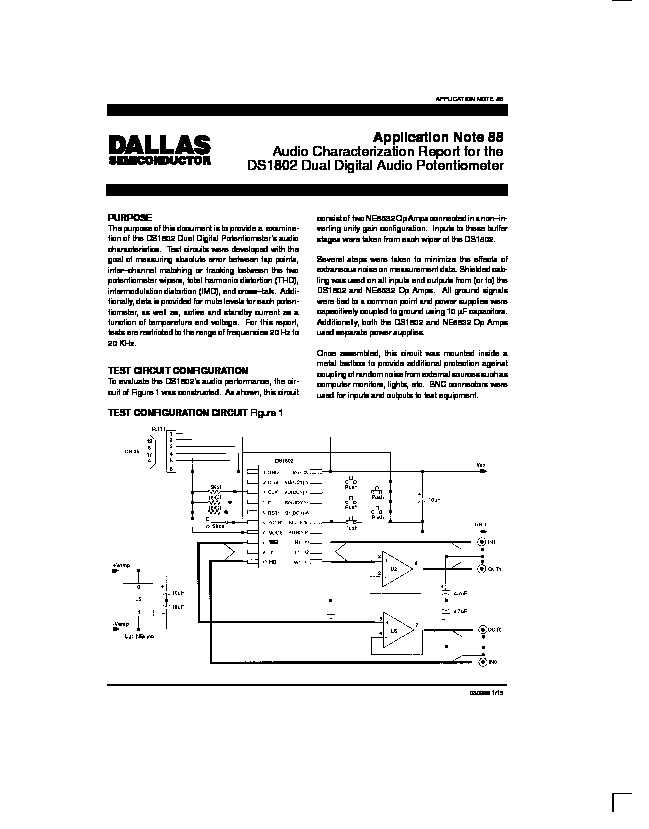 Volume Control   Dallas app88 pdf Volume Control   Dallas app88 pdf